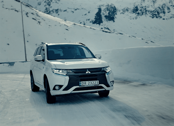 Mitsubishi – Man vs Nature